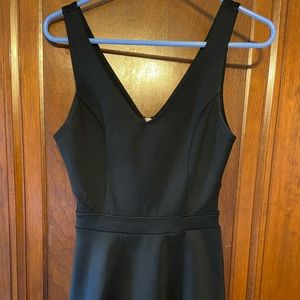Abercrombie and Fitch Black V-Neck Dress